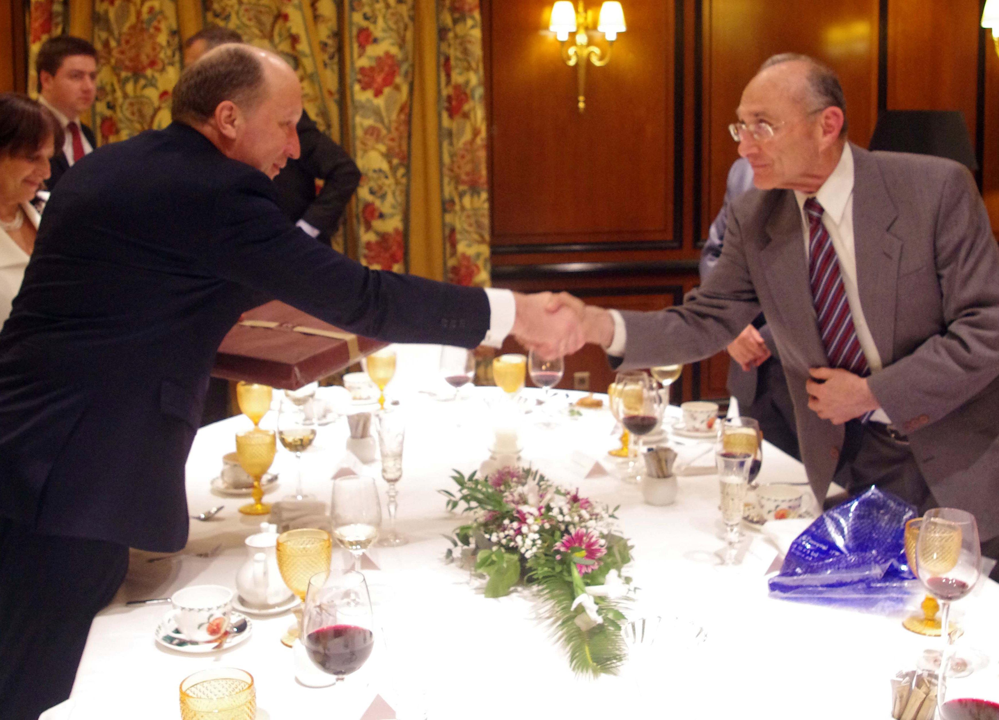 """ראש ממשלת ליטא לשר לנדאו: """"אתם מקור השראה עבורנו"""""""