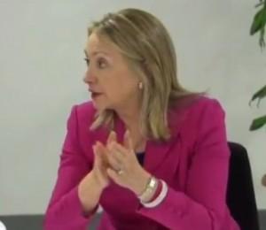 מזכירת המדינה האמריקנית הילארי קלינטון בביקורה בטורקיה