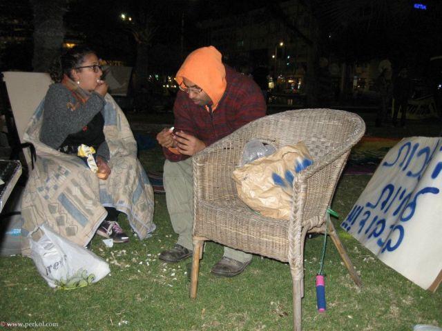 הזכות לחיות בכבוד - מחאה בכיכר רבין
