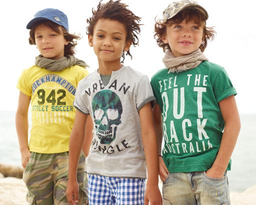 קולקציית ילדים- אביב-קיץ 2012 של בנטון