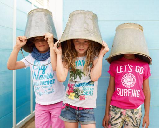 קולקציית ילדות - אביב-קיץ 2012 של בנטון