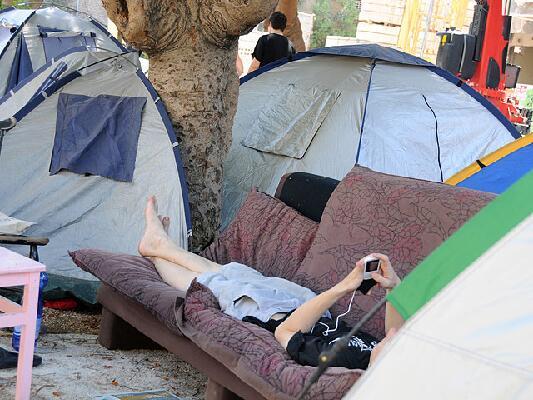 מחאת האוהלים, קיץ 2011 (צילום: יולה זובריצקי)
