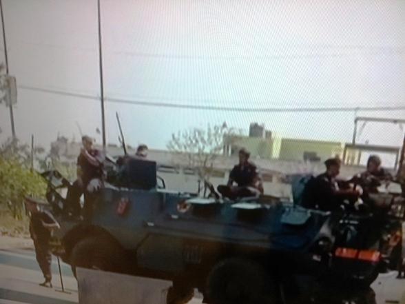 מחסום של צבא לבנון בטריפולי