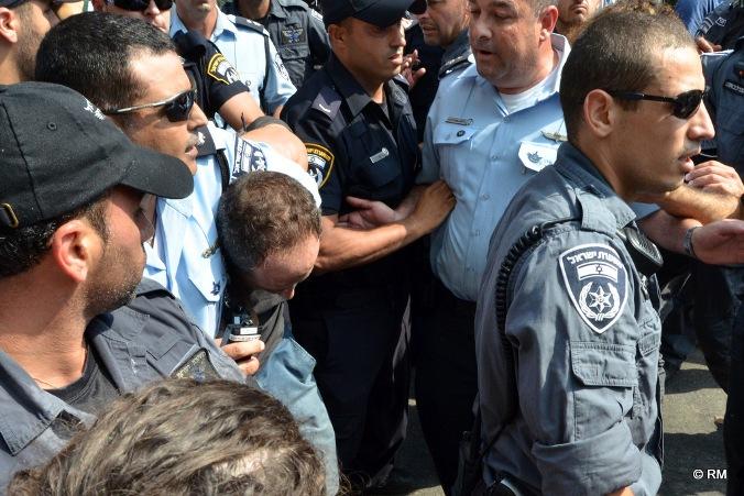 יחימוביץ': מצטיירת תמונה קשה של אלימות חריגה של המשטרה כלפי המפגינים