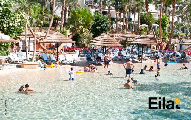 אילת. אירופה היא מקור עיקרי ומרכזי להבאת תיירים לישראל. צילום באדיבות עיריית אילת