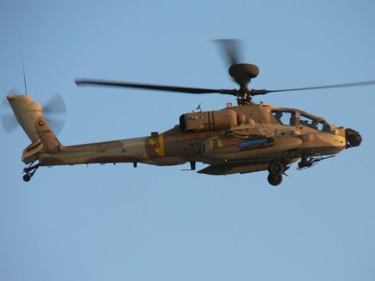 מסוק אפצ'י של חיל האוויר (צילום: גלית לובצקי, ויקימדיה)