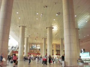נמל התעופה בן גוריון. (צילום: עירית רוזנבלום)