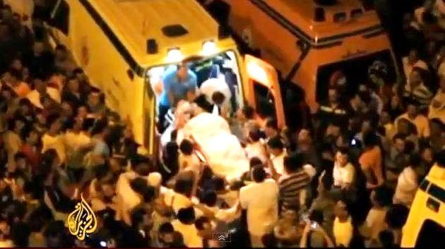 נפגעי ההתקפה ליד גבול ישראל נלקחים באמבולנסים מצריים