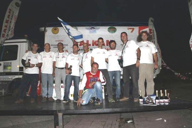 צוות פוינטר וצוות אראן סיימו את ראלי הבלקן ועלו לפודיום