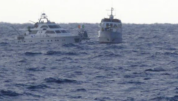 """חיל הים השתלט על הספינה """"אסטל"""" בדרכה לעזה"""