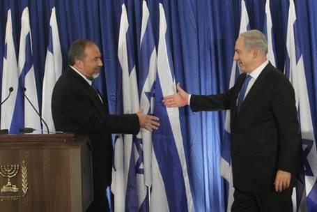 נתניהו וליברמן (צילום מעמוד הפייסבוק של ראש הממשלה)