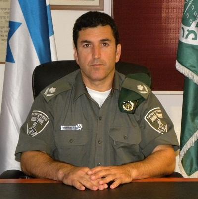 מפקד משמר הגבול מונה למפקד מחוז דרום במשטרה