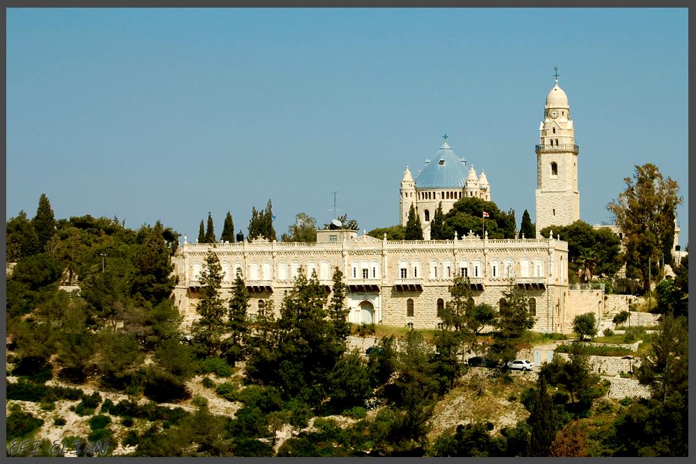 """כתובות """"תג מחיר"""" רוססו על כנסייה בירושלים"""
