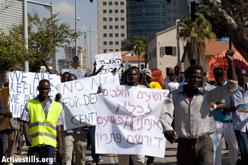 הפרקליטות: לא היתה החלטה לעצור סודאנים