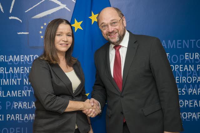יחימוביץ' בפרלמנט האירופי: להעצים הסנקציות נגד איראן