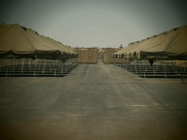 """מחנה הכליאה """"נחל רביב"""" (צילום: מתוך העתירה)"""
