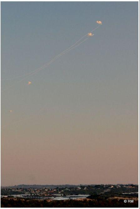 שיגורים ויירוטים היום (צילום: רפי מיכאלי)