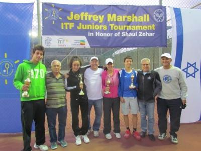 גמר תחרות הטניס לנוער ITF: ולריה ניקולייב במקום ה-1