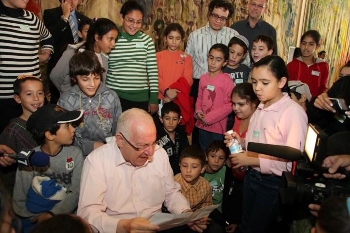 הכנסת אירחה 400 ילדים מדרום הארץ