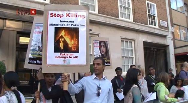 בפקיסטן בוטל משפט חילול השם נגד הילדה