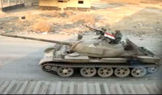 טנק סורי (מקור: יו טיוב)