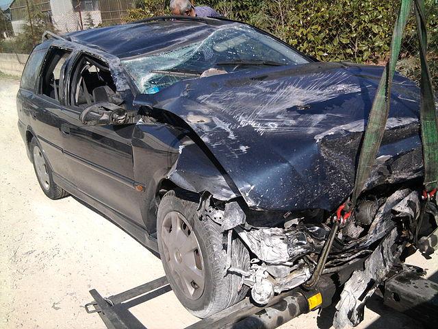 תאונת דרכים קלה (צילום: La-Cara-Salma, ויקימדיה)