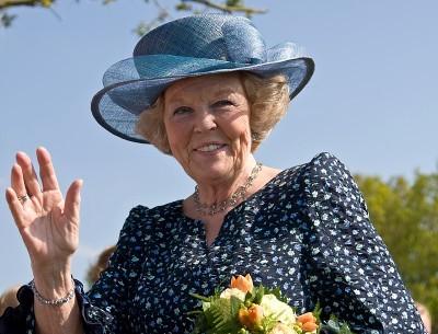 שלום למלוכה. ביאטריקס, המלכה הפורשת (מקור: ויקימדיה).