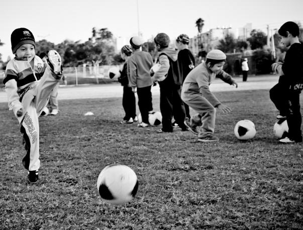 """בס""""ד, קבוצת הכדורגל הדתית הראשונה"""