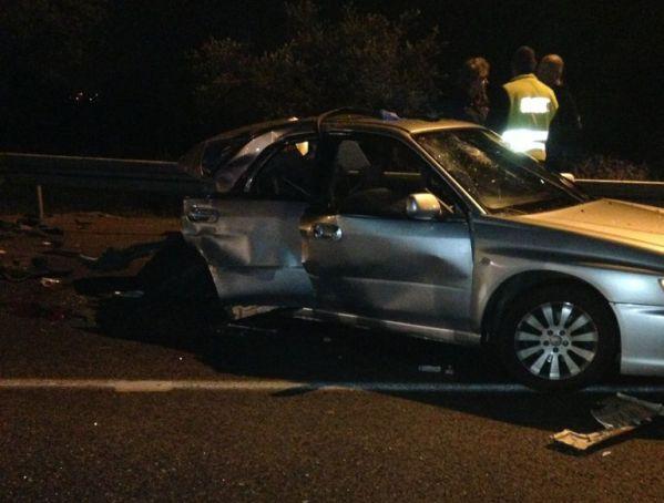 שלושה פצועים קשה בתאונה בגליל המערבי