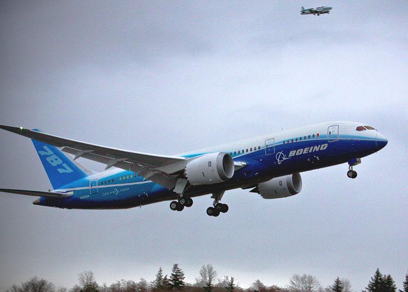 בואינג 787-800. צילום: בואינג