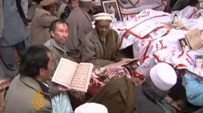 האזארים - מסרבים לקבור את המתים