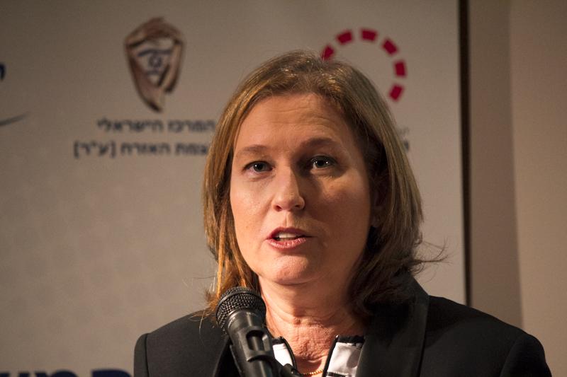 """ההסכם: לבני תהיה שרת המשפטים ותנהל את המו""""מ עם הפלסטינים"""