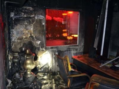 """משרדי בית""""ר ירושלים הוצתו ועלו באש"""