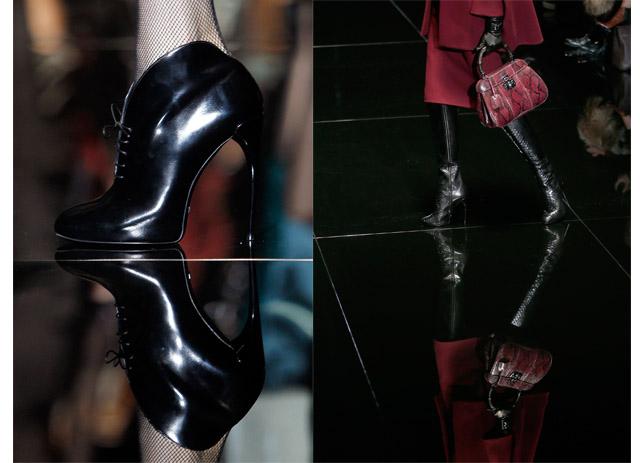גוצ'י בשבוע האופנה של מילאנו. צילום: Reuters