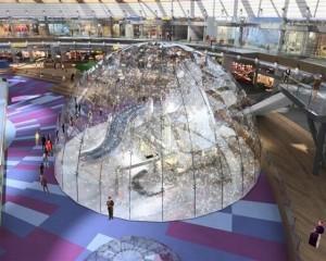 הדמיה של איגלו השלג שיפעל בפארק הקרח מפסח. (הדמיה: פייגין אדריכלים)