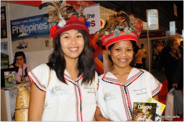 בתערוכת התיירות נחנכה לשכת תיירות ישראל-פיליפינים. (צילום: ציפי מנשה)