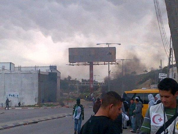 הכניסה לעיר רמאללה (צילום: שומרי אל אקצה)