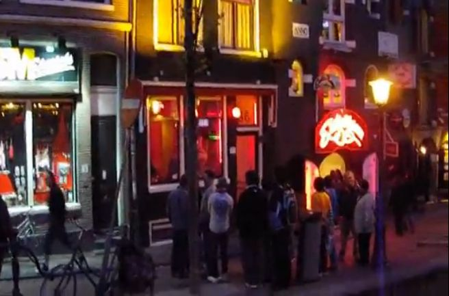 החלונות האדומים, אמסטרדם