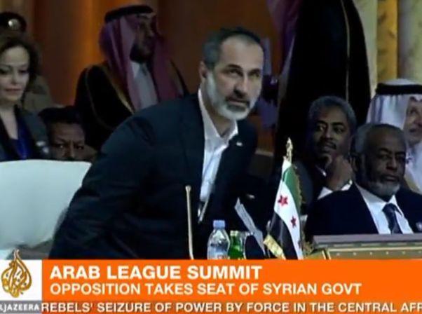 המלחמה בסוריה במרכז הדיונים בליגה הערבית בקטאר