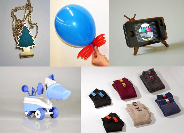 """עבודות של סטודנטים מהמכון הטכנולוגי חולון. צילומים: יח""""ץ"""