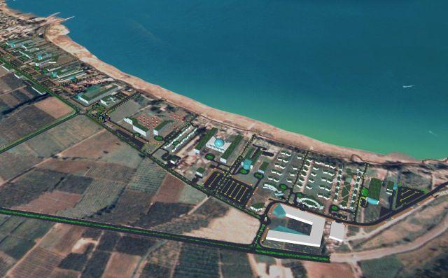 חוף מגדל. תוכנית ענק אשר בסופה תכלול חופי רחצה לצד כ-20 בתי מלון מסוגים וסגנונות שונים
