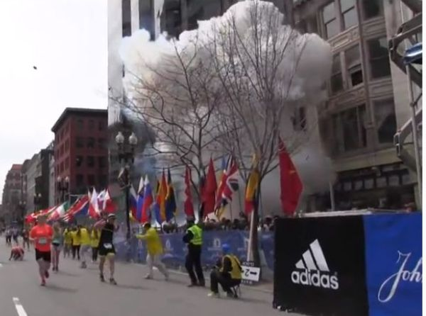 רגע הפיצוץ (מקור: יוטיוב)