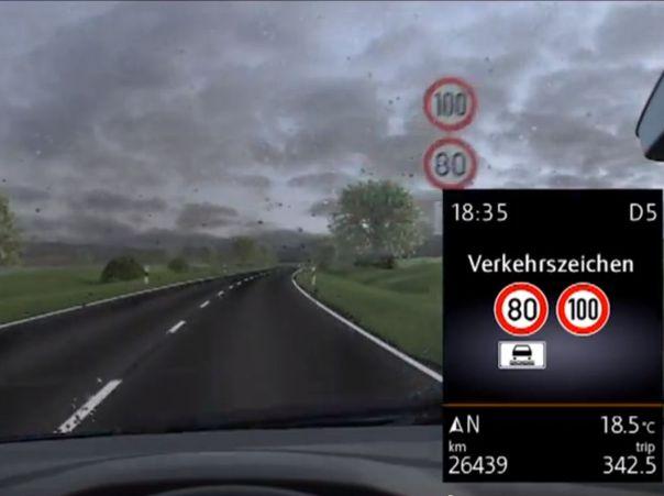 מערכת זיהוי תמרורים לבטיחות הנהיגה