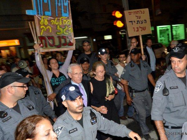 חוזרים לסילבן: הפגנה להשארת הגז הטבעי בישראל