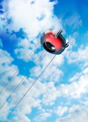 מעלית לחלל - גם ישראליים יכולים לממן (באדיבות: Victor Habbick, http://www.freedigitalphotos.net)
