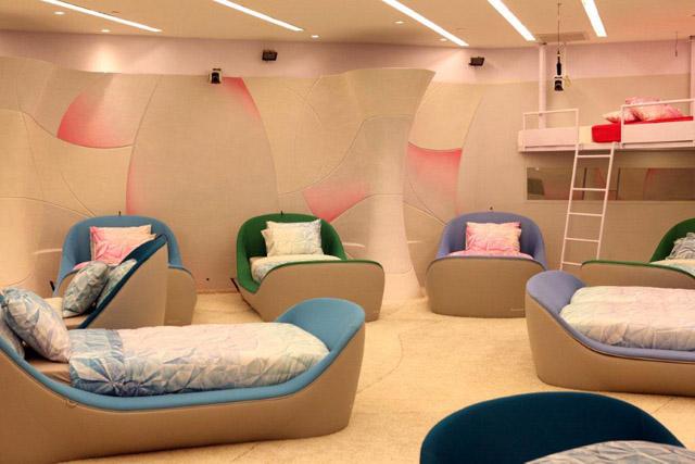 """טכנולוגיות של פרארי וצוללנים. שמח בחדר השינה של האח הגדול. מיטות Swiss System. צילום: יח""""ץ"""