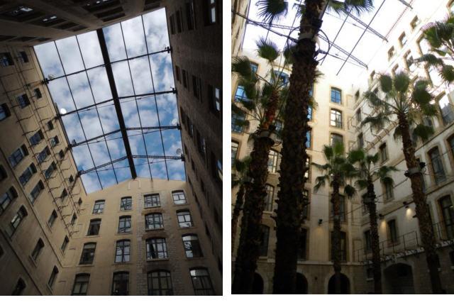 שניים מחללי החצרות הפנימיות - צילום: עמית מנדלזון