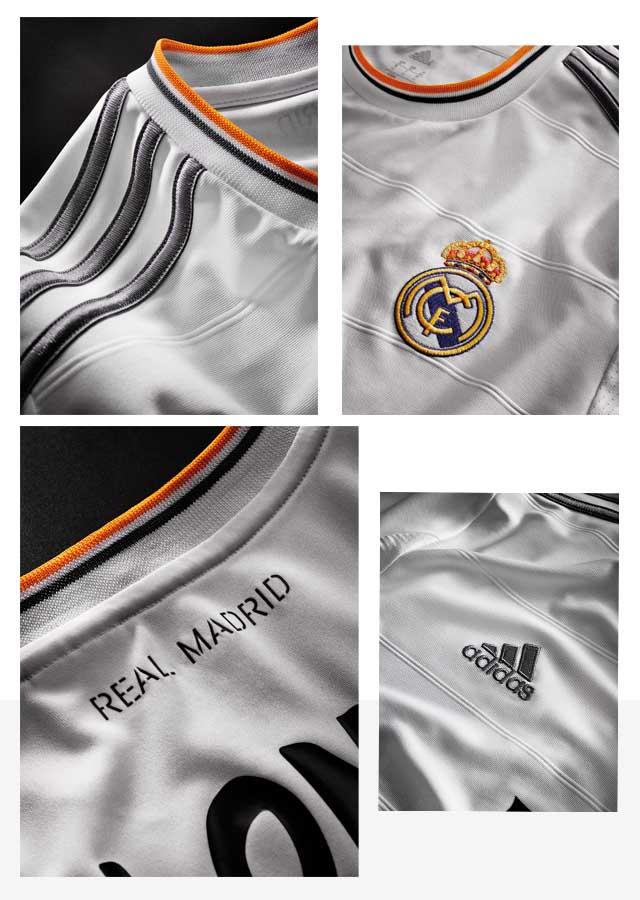 המדים החדשים של ריאל מדריד. צילום: ADIDAS GROUP