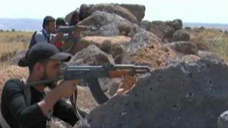 מורדים מתכוננים לקרב על חאלב