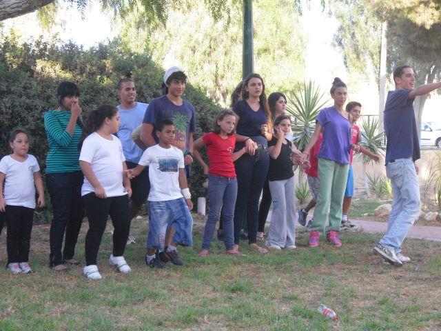 פעילות עם ילדי המועדונית